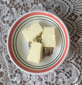 Organic, grass fed butter for nutrients