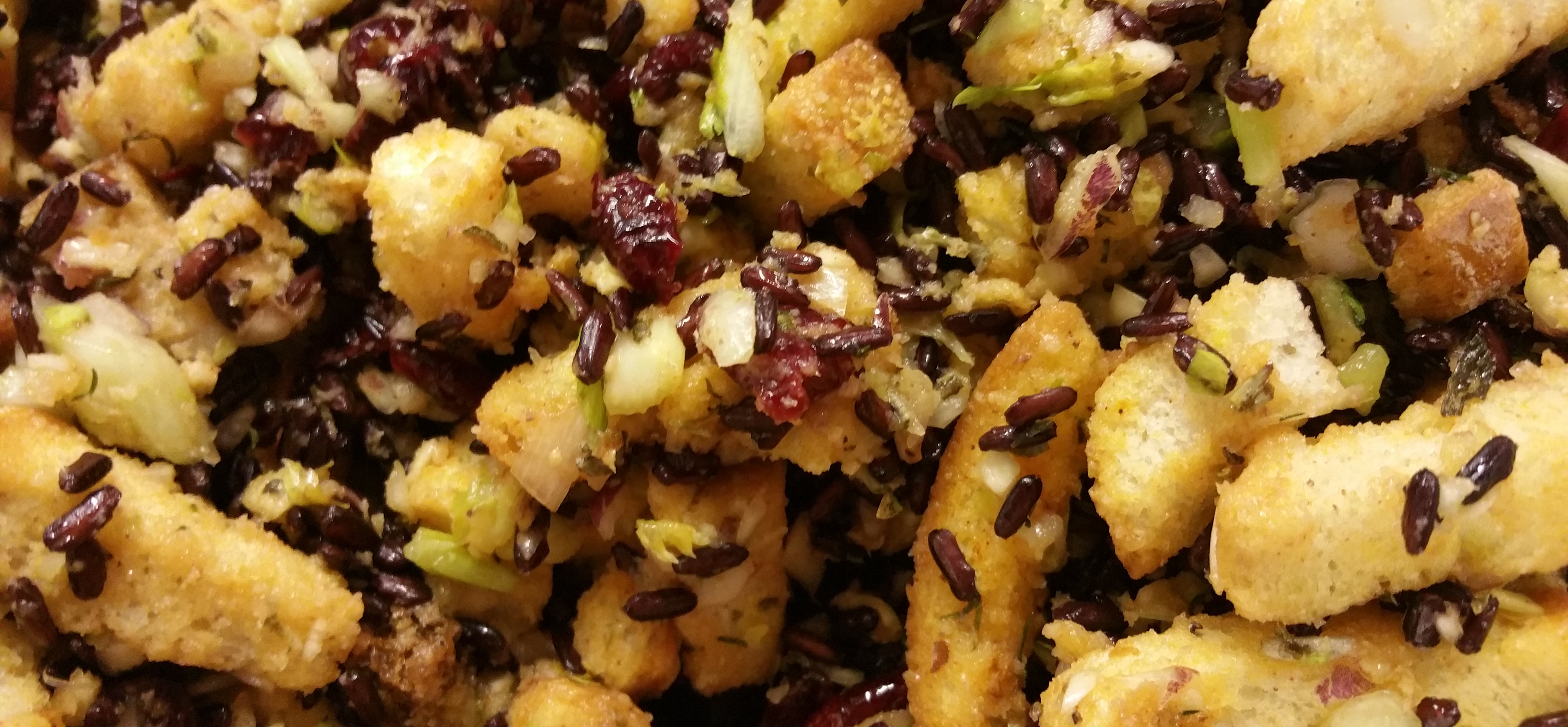 Cranberry & Wild Rice Stuffing for Turkey